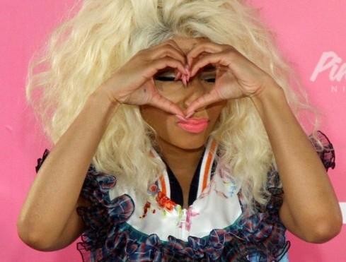 Nicki Minaj al lancio del suo nuovo profumo07