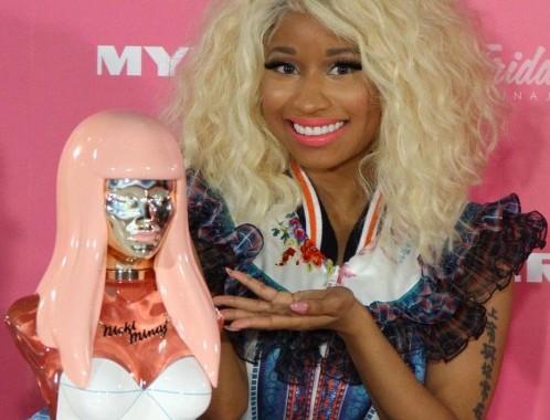 Nicki Minaj al lancio del suo nuovo profumo08