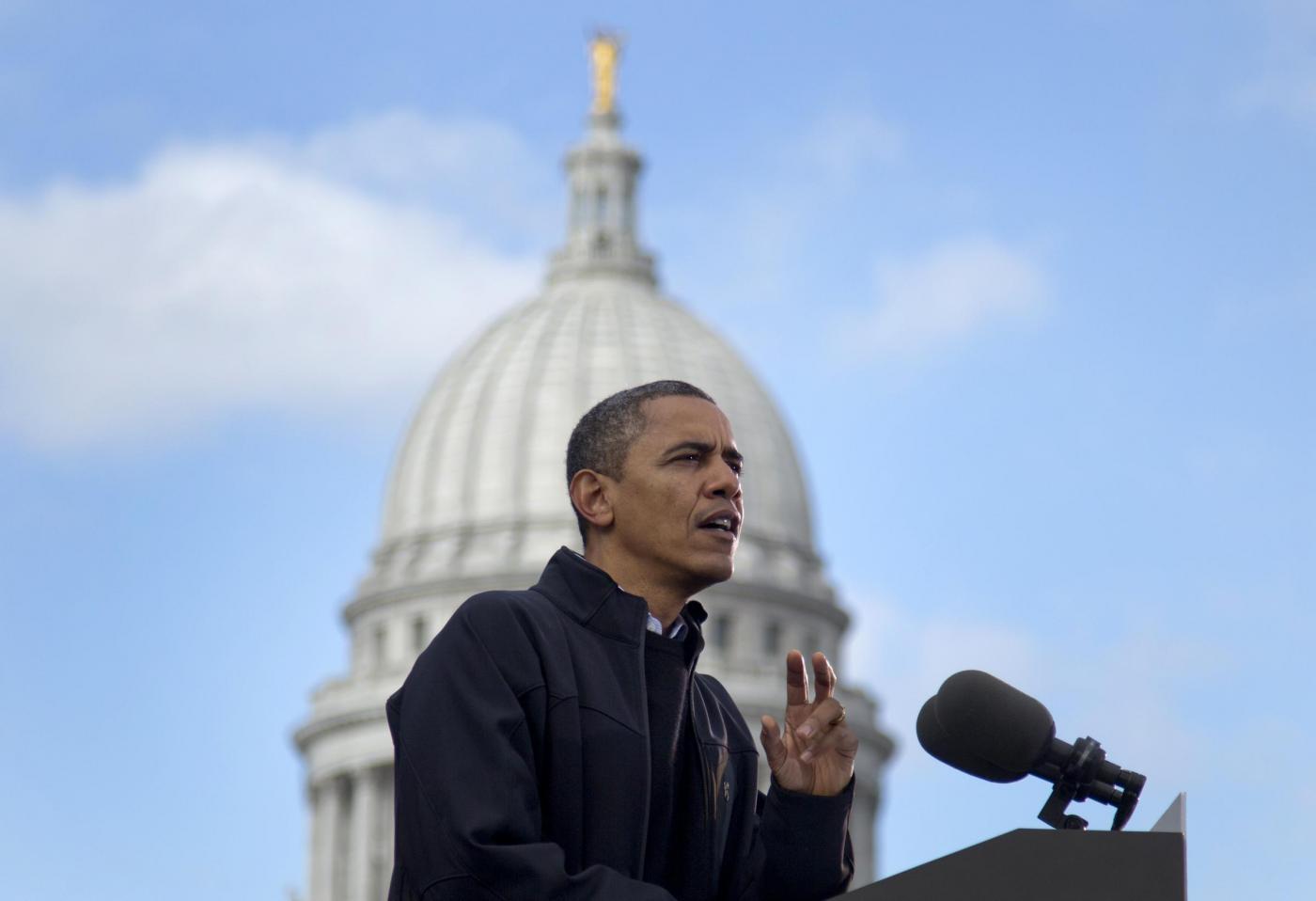 Elezioni USA, Bruce Springsteen suona per Obama04