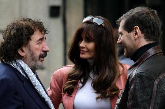 Carol Alt e Alexei Yashin a Milano01