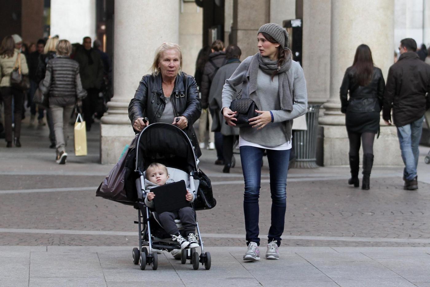 Carolina Marcialis con Christopher e Giovanna da Zara Home06