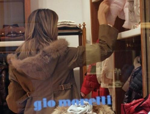 Shopping da Gio Moretti per Elena Santarelli01