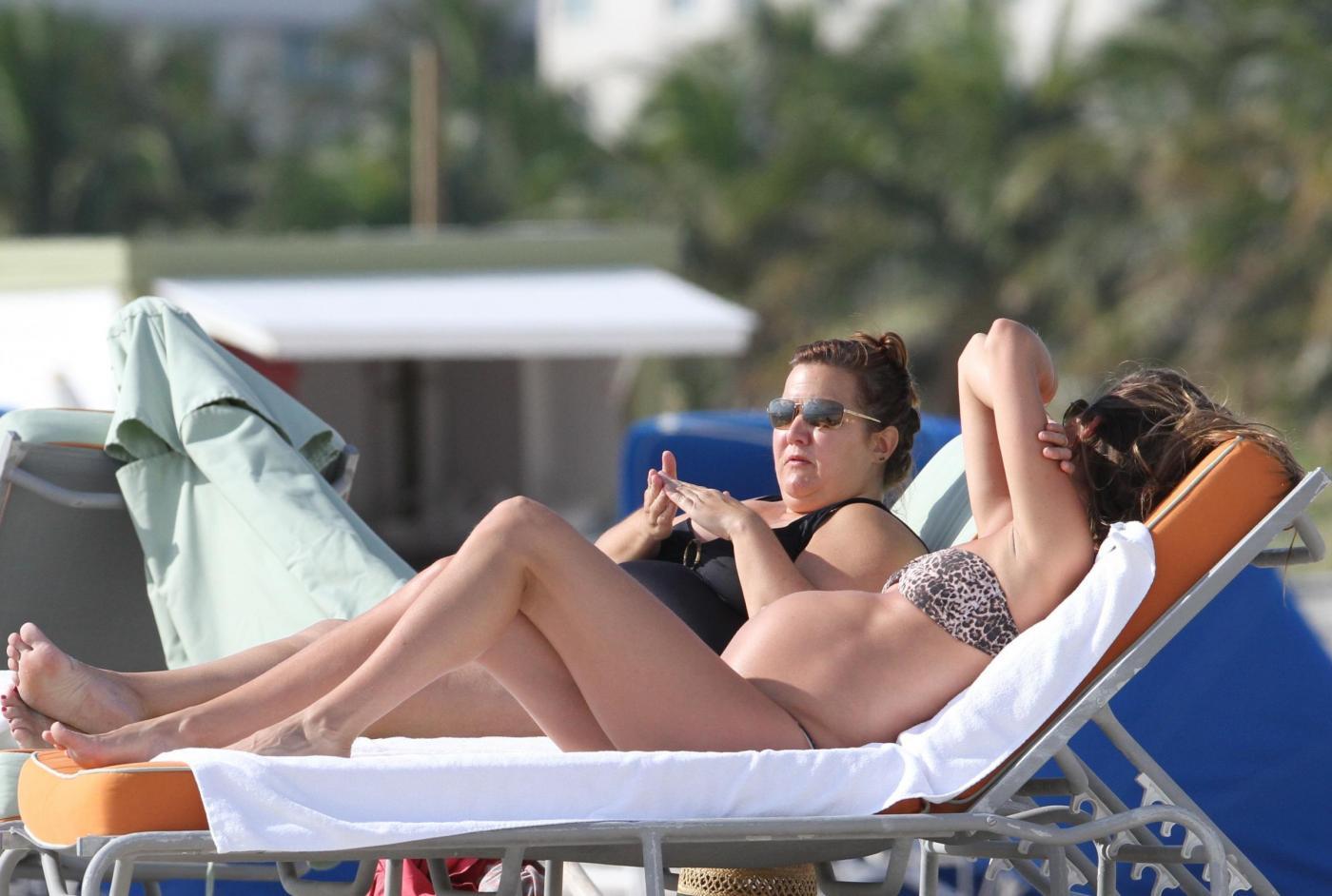 Gisele Bundchen incinta in relax a Miami06