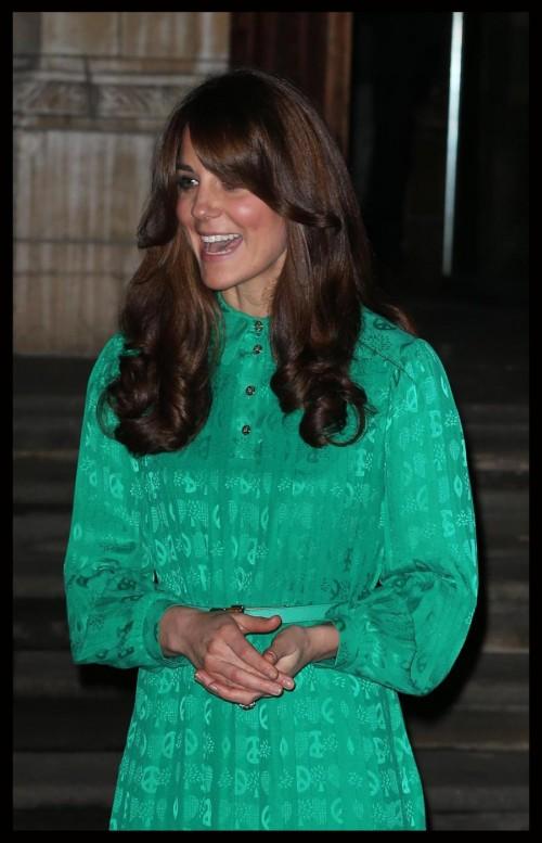 Kate Middleton al museo di storia naturale di Cambridge04