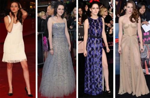 Kristen Stewart, gli abiti delle premiere di Twilight