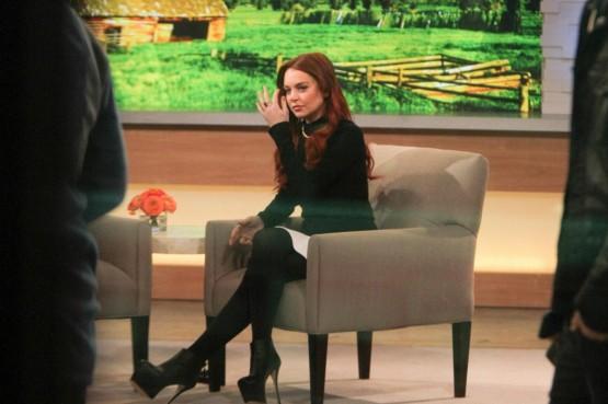 Lindsay Lohan in tv per promuovere il film sulla Taylor03