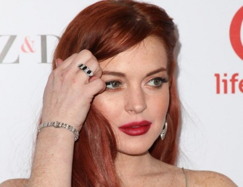 "Lindsay Lohan alla prima di ""Liz & Dick ""06"