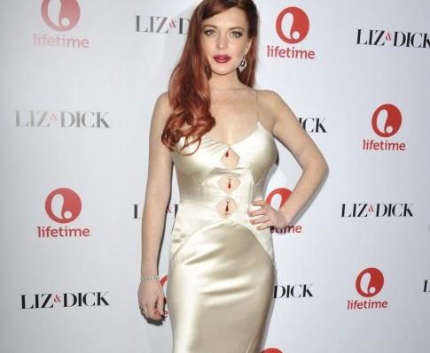 "Lindsay Lohan alla prima di ""Liz & Dick ""05"