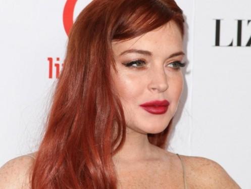 "Lindsay Lohan alla prima di ""Liz & Dick ""04"