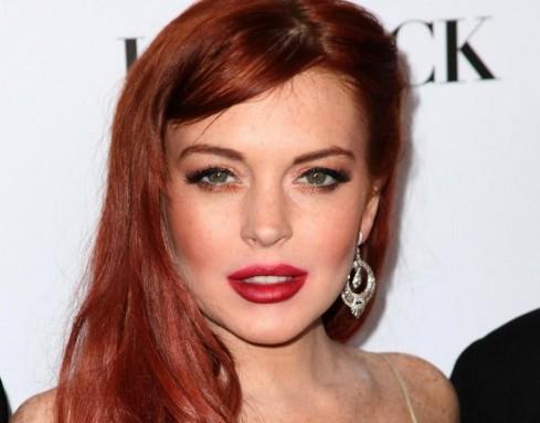 "Lindsay Lohan alla prima di ""Liz & Dick ""03"