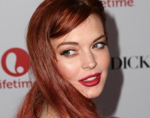 "Lindsay Lohan alla prima di ""Liz & Dick ""02"