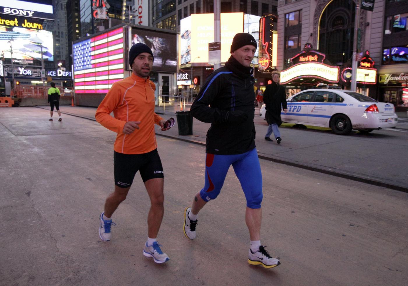 Sandy non ferma la Maratona di New York03