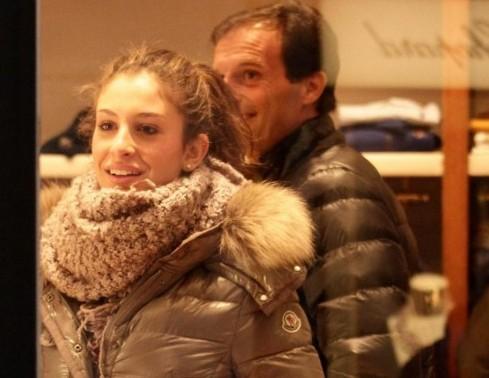 Massimiliano Allegri scherza con la figlia Valentina07