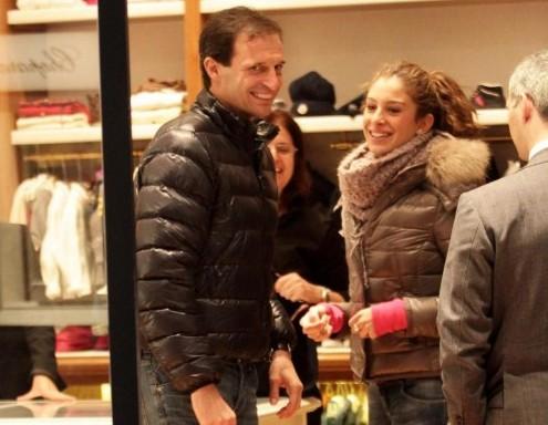 Massimiliano Allegri scherza con la figlia Valentina06