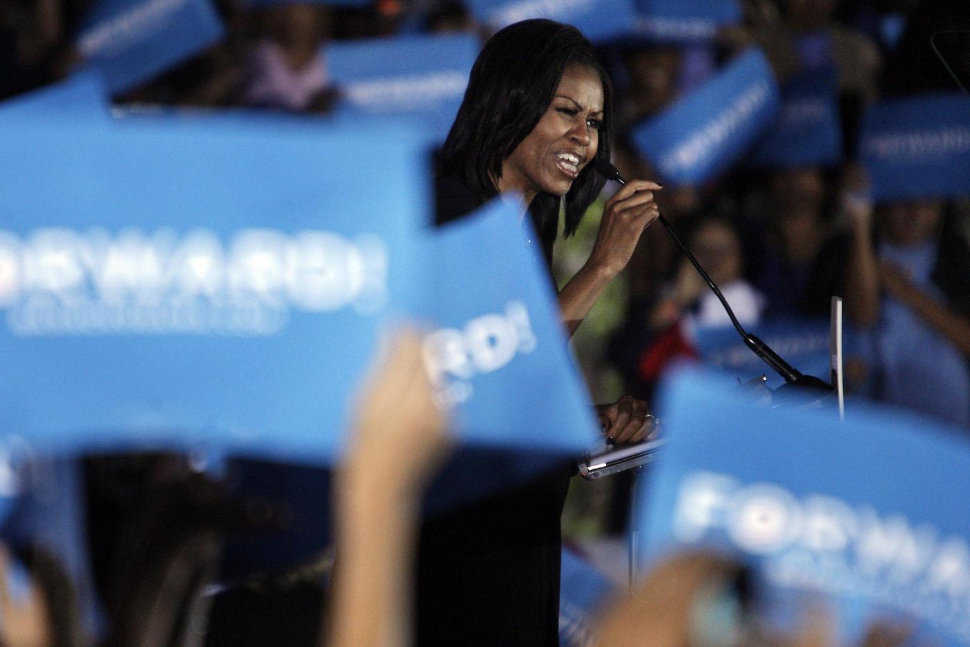 Michelle Obama a Orlando02