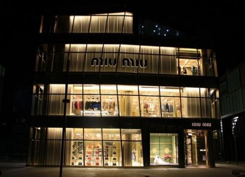 Boutique Miu Miu a Pechino 02