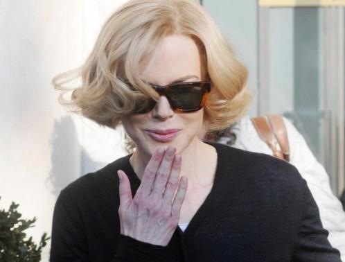 Nicole Kidman a Genova per il film 'Grace of Monaco'01
