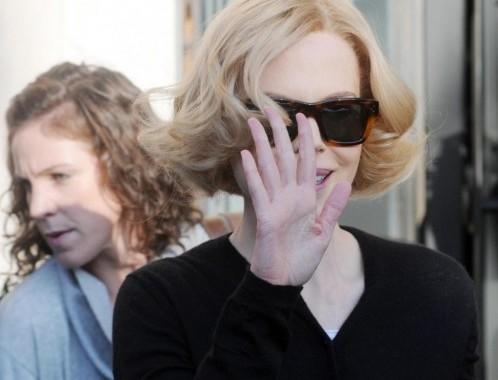 Nicole Kidman a Genova per il film 'Grace of Monaco'02