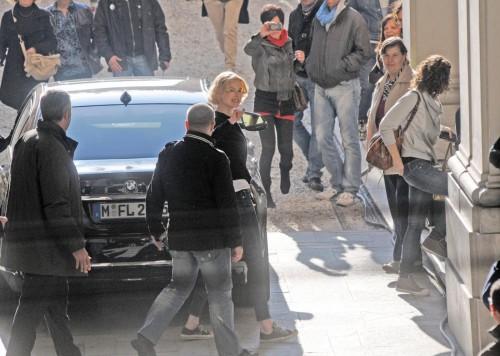 Nicole Kidman a Genova per il film 'Grace of Monaco'04