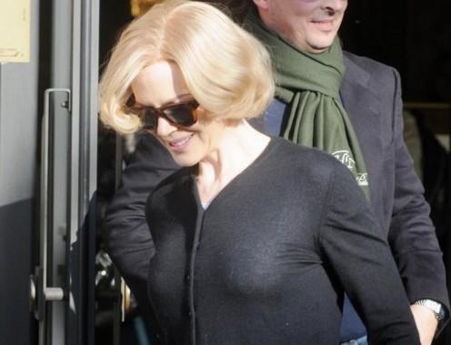 Nicole Kidman a Genova per il film 'Grace of Monaco'09