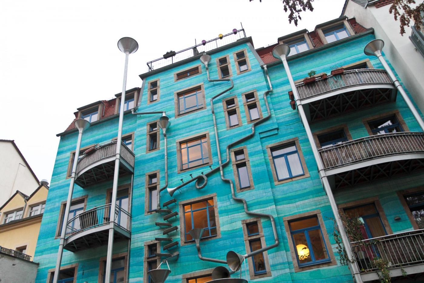 Berlino, la casa che suona con la pioggia03