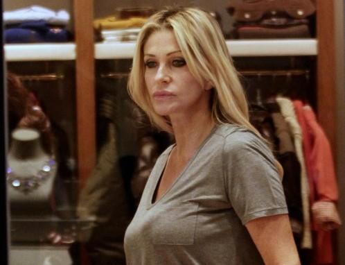 Paola Ferrari shopping da Gio Moretti04