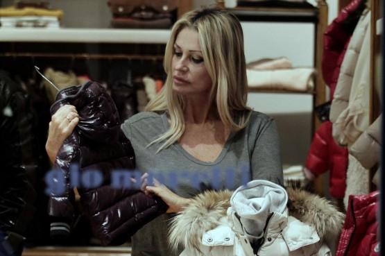 Paola Ferrari shopping da Gio Moretti05