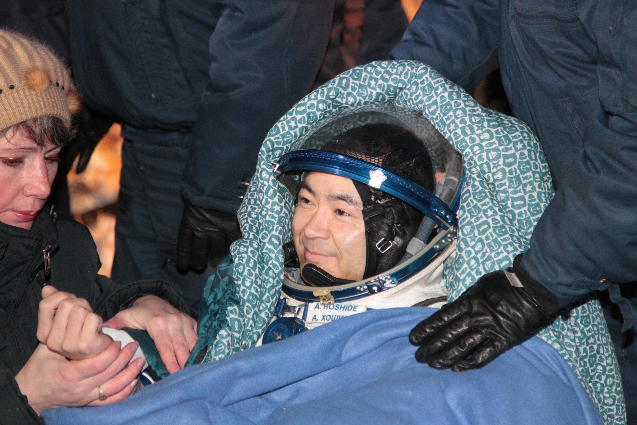 Landing of Soyuz 010
