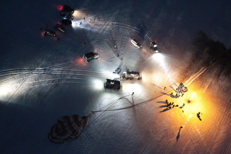 Landing of Soyuz 011