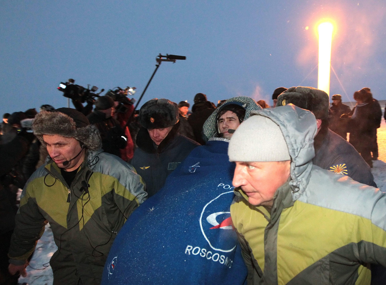 Landing of Soyuz 03