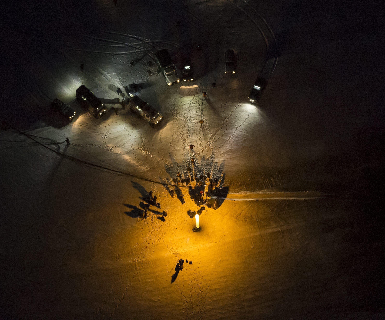 Landing of Soyuz 006