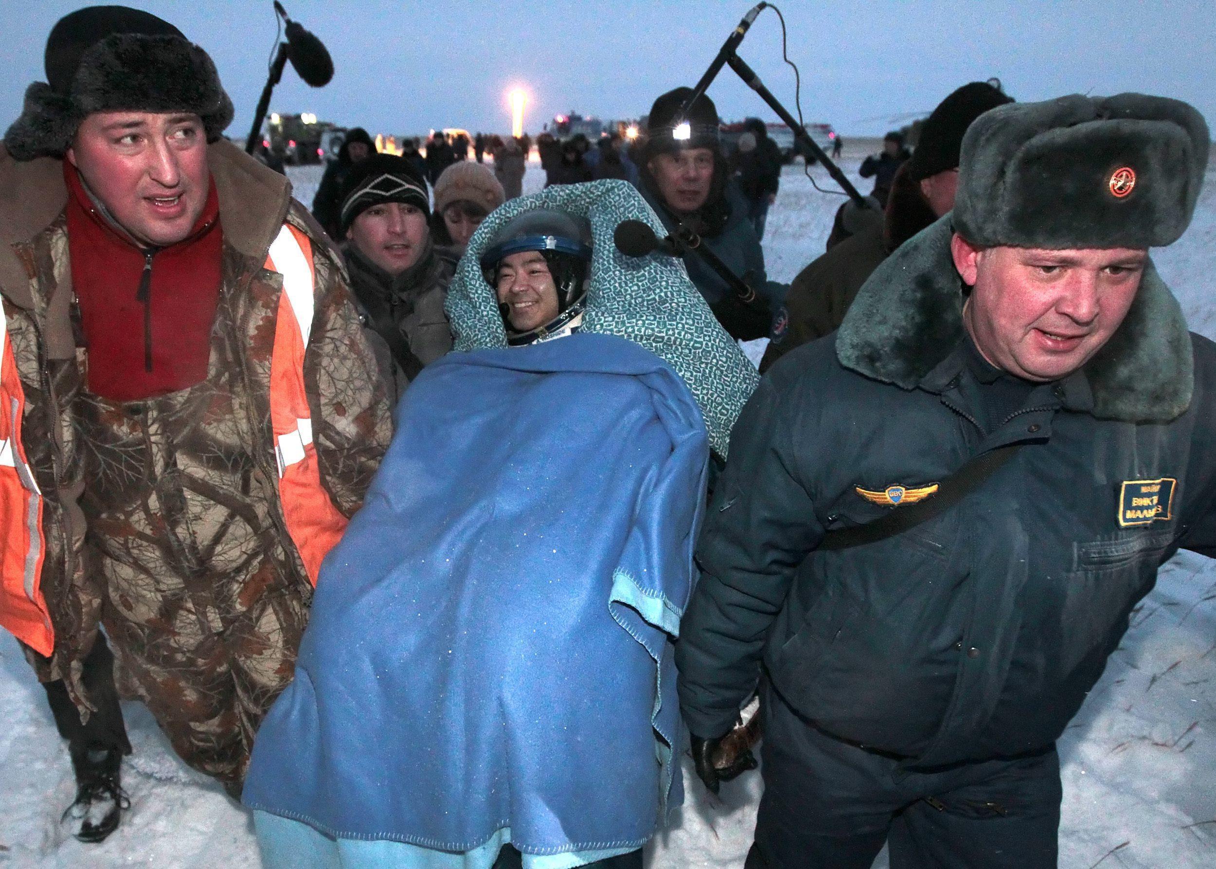 Landing of Soyuz 07