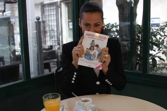 Samantha De Grenet con il suo libro ''Adesso parlo io'' 03