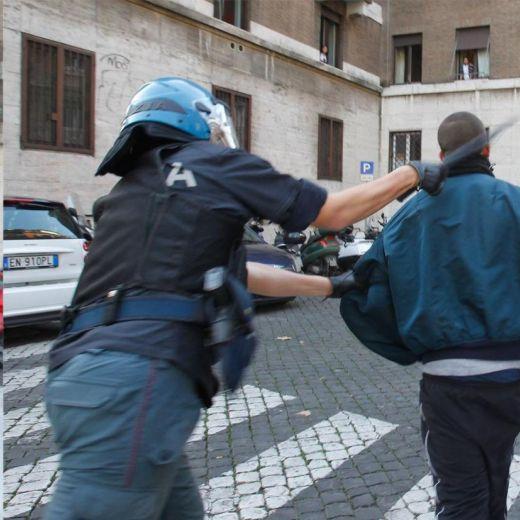 scontri roma2