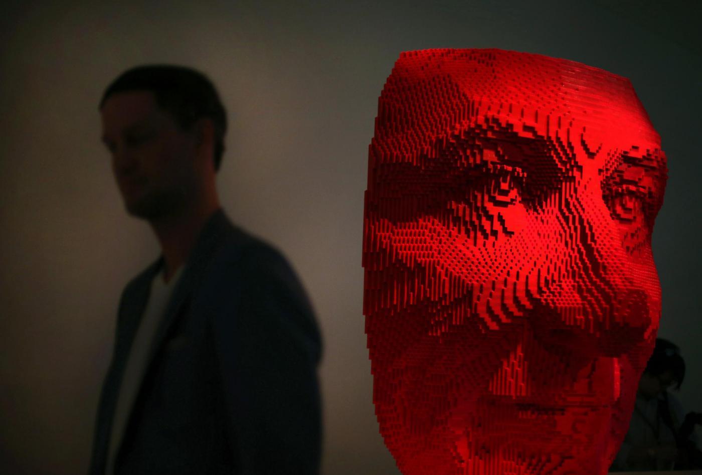Singapore, i mattoni Lego diventano arte02