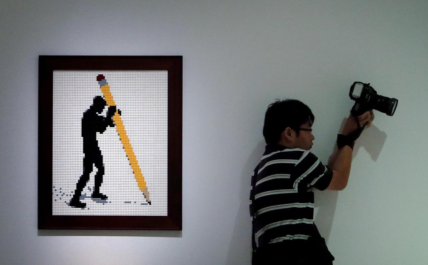 Singapore, i mattoni Lego diventano arte06