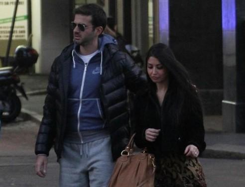 Andrea Stramaccioni con la moglie Dalila 01