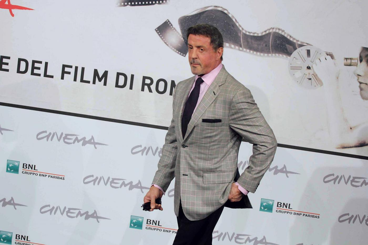 Roma Film Fest, photocall 'Bullet to the head'02