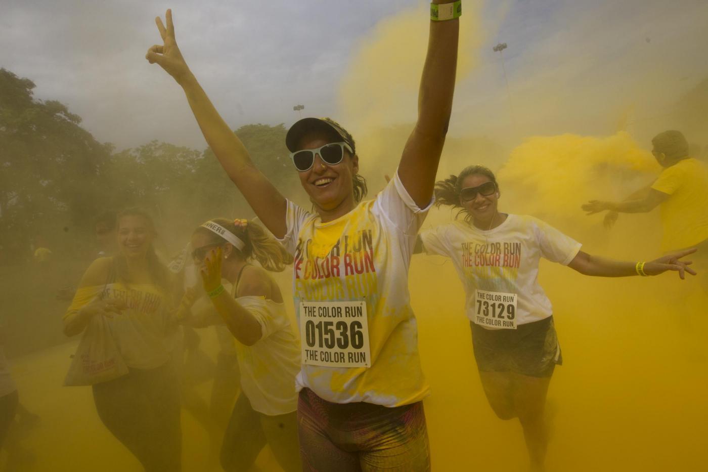 """Rio de Janeiro, la corsa """"The Color Run 5K""""06"""