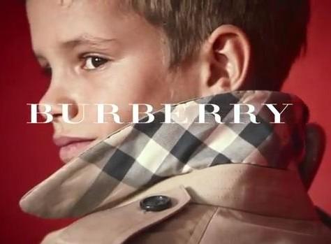 Romeo Beckham Burberry 01