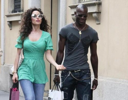Mario Balotelli e Raffaella Fico