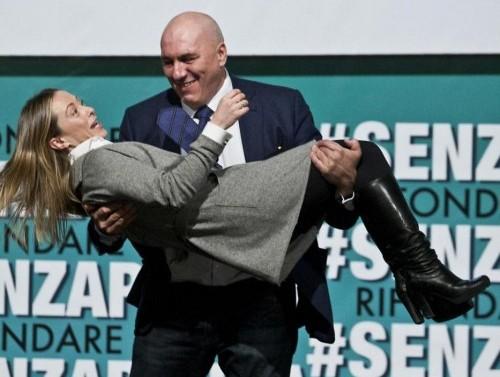Giorgia Meloni e Guido Crosetto