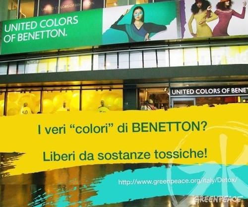 Benetton per Greenpeace