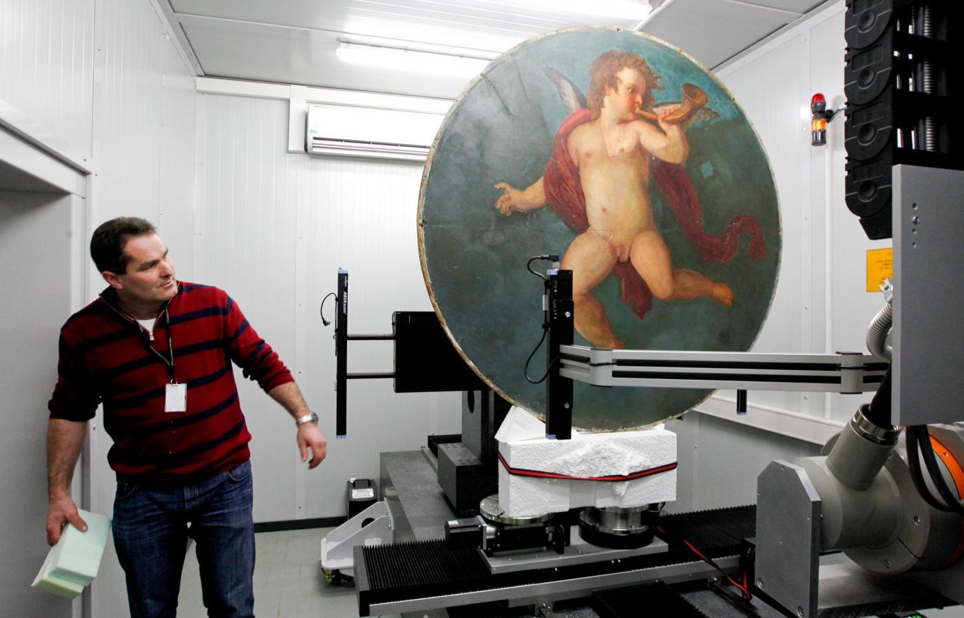 Trovato un quadro forse dipinto da Klimt07