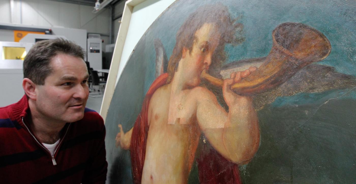 Trovato un quadro forse dipinto da Klimt04