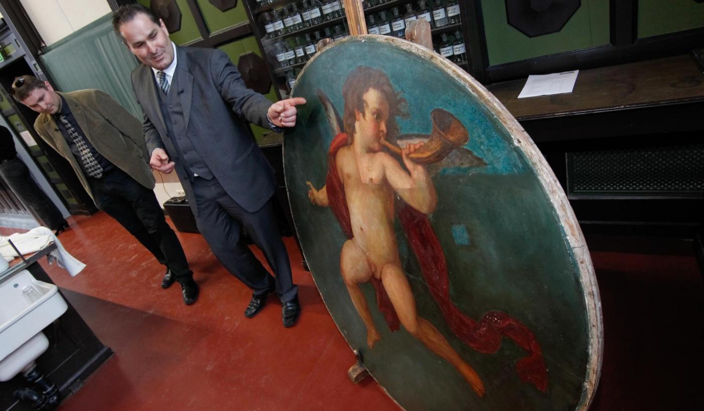 Trovato un quadro forse dipinto da Klimt03