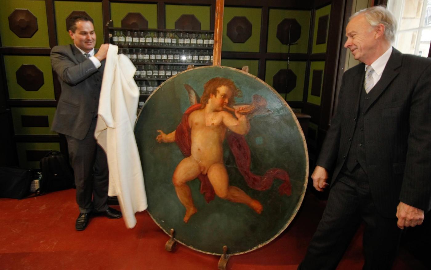 Trovato un quadro forse dipinto da Klimt02