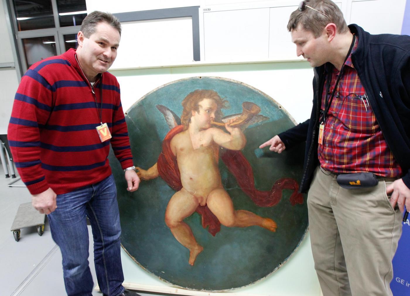 Trovato un quadro forse dipinto da Klimt01