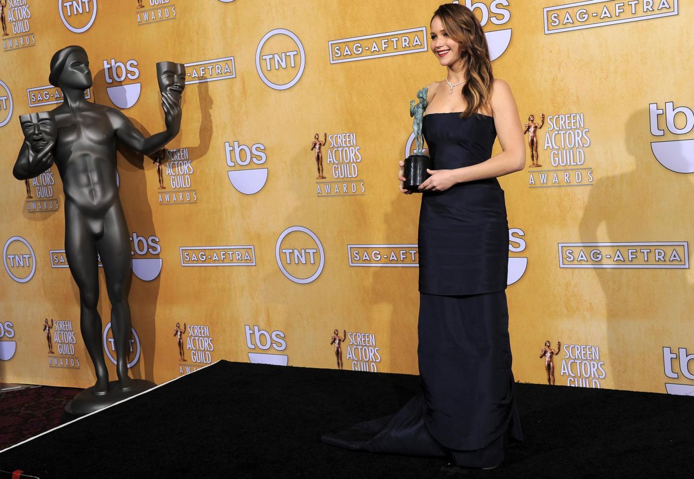 SAG Awards 2013.Press Room07