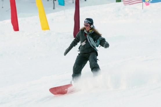 Ludmilla Radchenko snowboarder a Courmayeur01